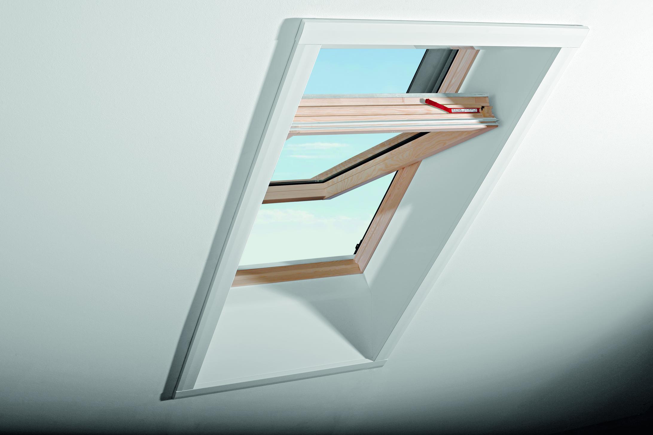 Fenster im Dachgeschoss - Führer